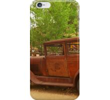 Route 66 Vintage Auto iPhone Case/Skin