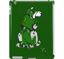 Green Voltron Lion Cubist iPad Case/Skin