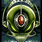 Alien Cyborg by LinkArtworks