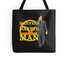 Manners Maketh Kingsman Tote Bag
