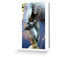 Thrusting.... Greeting Card