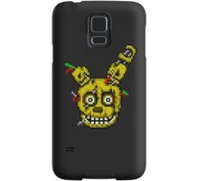Five Nights at Freddy's 3 - Pixel art - SpringTrap / Golden Bonnie / Rotten Bonnie Samsung Galaxy Case/Skin