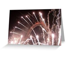 New Years The Eye London - 2007 Greeting Card