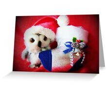 What I Want For Christmas.... Greeting Card