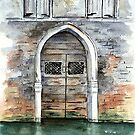 Venice Door by LinFrye