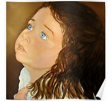 Portrait of Anna  - Oil Painting Poster