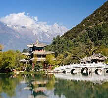 Black Dragon Pool Lijiang Yunan Province China 1 by MiImages