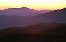 SUNSET,CLINGMANS DOME by Chuck Wickham