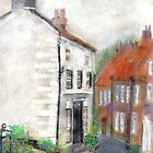 Cottage, Robin Hoods Bay by Frances Young