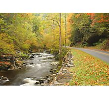 Little River Road Photographic Print