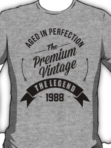 Vintage 1988 Aged To Perfection T-Shirt
