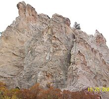 Garden of the Gods Rocks by HungarianGypsy