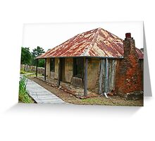 Louis Beyers Cottage Greeting Card