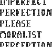 Imperfect perfection  by JNel
