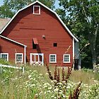 Red Barn by Linda Marlowe
