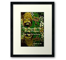 { Book Cover } The Adventures of Ricky Raccoon ~  Ricky finds the lost meadow   Framed Print