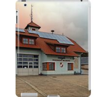 The firestation of Waldburg | architectural photography iPad Case/Skin