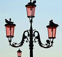 Venetian Street Lights by Renee Hubbard Fine Art Photography