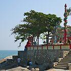 Thai Waterfront Shrine, Hua Hin, Thailand. by johnrf