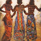 'Afar Dancing' by Pauline Adair