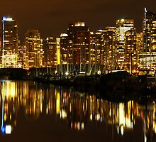 Reflections of Vancouver by Brian Carey