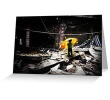 Sichuan Earthquake 2008 Greeting Card