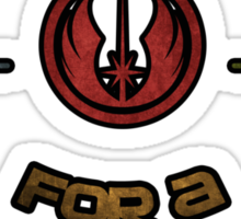 Star Wars Jedi Sticker