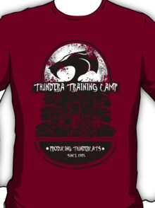 Thundera Training Camp (dark red) T-Shirt