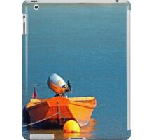 Boat on the river   landscape photography iPad Case/Skin