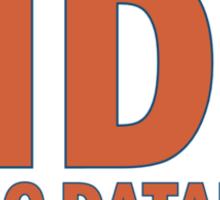 Orange MDB Sticker