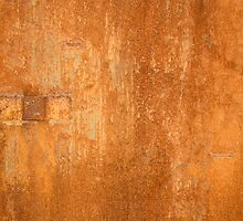 Rusty wall by dominiquelandau