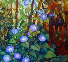 "Ipomoea ""caerulea blue"" by elisabetta trevisan"