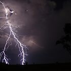 Explosive lightning Merriwa, NSW, Australia by jdeguara