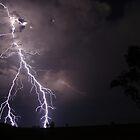 Explosive lightning Merriwa, NSW, Australia by jdeguara