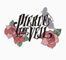 Pierce The Veil, Roses Logo 2 by elliegillard