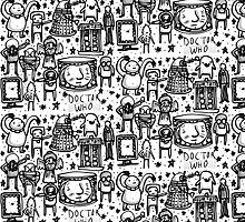 Doctor Who doodle by hippopotami
