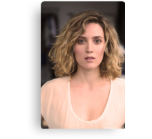 The Beautiful Evelyne Brochu Canvas Print