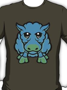 Year Of The Sheep Blue and Green  T-Shirt