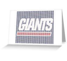 NY Text Logo 2 Greeting Card