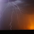 explosive staccato lightning Queensland Australia by jdeguara