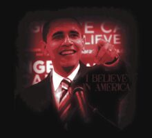 Barack Obama I Believe in America by Ryan Houston