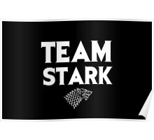 Game of Thrones - Team Stark Poster