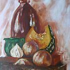 Still Life with Pumpkin by LynneHerry