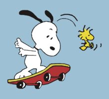 Snoopy on skate by Thomassus