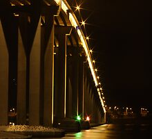Tasman Bridge @ Night by vbphotography