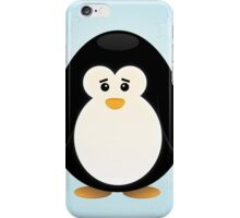 Sad Penguin iPhone Case/Skin