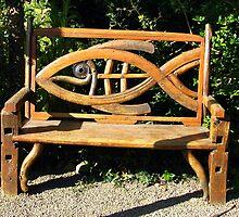 Bench For Seafaring Folk   by Chuck Gardner