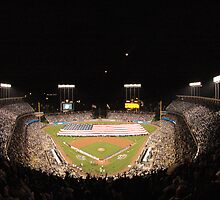 Dodger Stadium by Marzdogg19