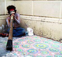 Didgeridoo Busker by incurablehippie