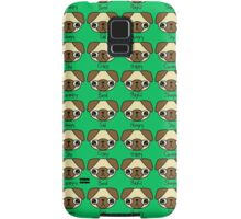 The many facial expressions of a pug Samsung Galaxy Case/Skin